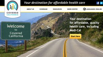 California Obamacare web site