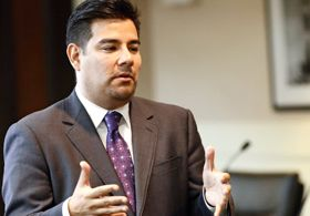 State Sen. Ricardo Lara of Southern California